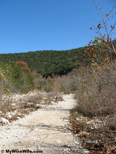 Beginning of East Trail