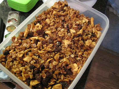 Finished Homemade Granola