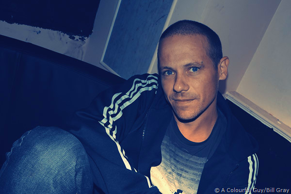 Survival aka Steve Kielty backstage at Zen.