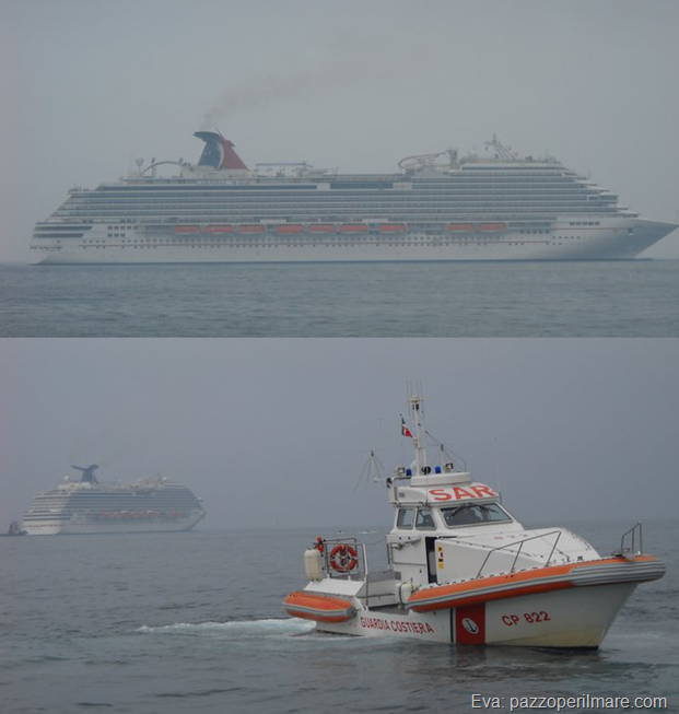 carnival magic sea trial prove in mare trieste  (1)