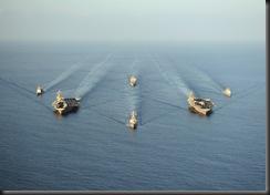 2 авианосца ВМФ США