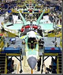Завод по сборке самолетов F-22A