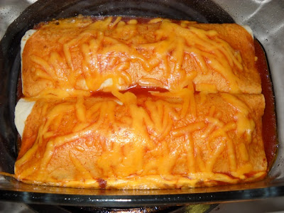 finished enchiladas