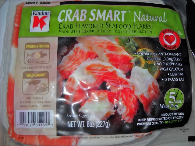 how to cook imitation crab meat for sushi