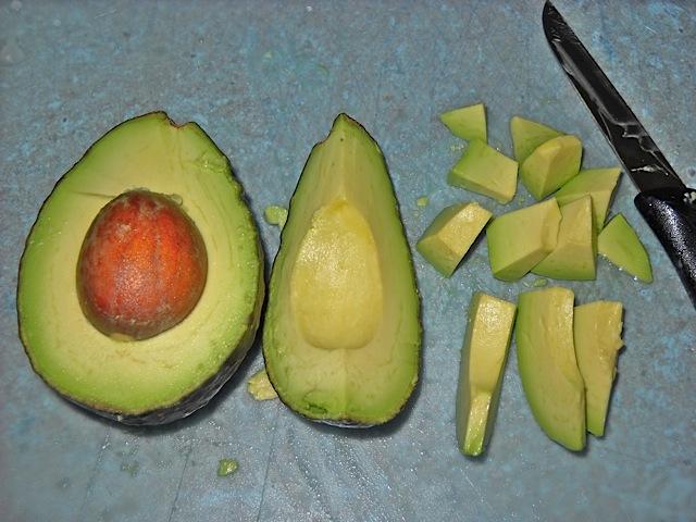 dice avocado