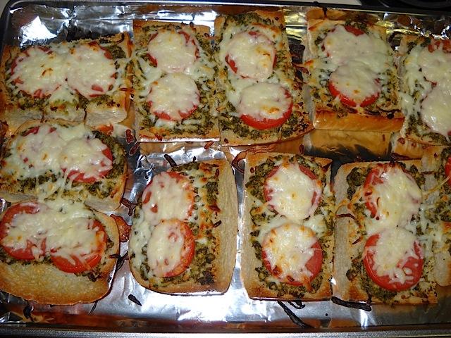 Pesto Cheese Toast