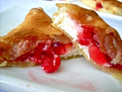 Cherry Almond Cream Cheese Danish