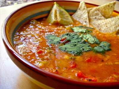 Mexican Lentil Stew