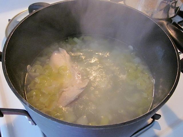 simmer chicken