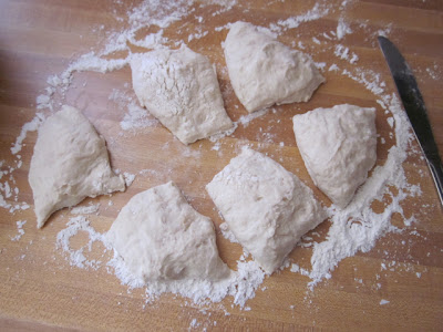 divide dough
