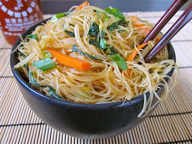 Singapore Noodles, Rice Vermicelli