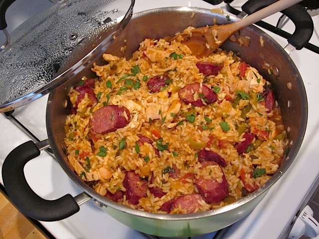 "Welcome to Louisiana ""The Bayou State"" 8%20jambalaya%20done"