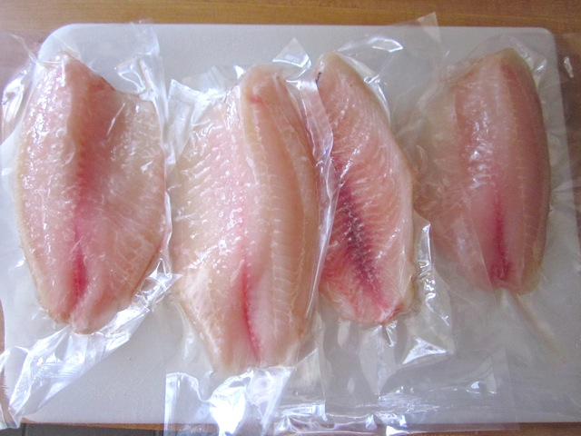 frozen tilapia filets