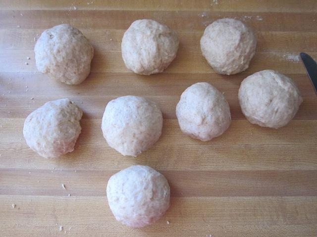 shape tortilla dough