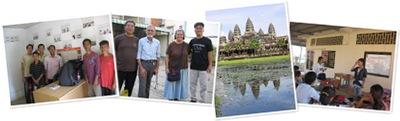 """""""Visit Cambidian Deaf! カンボジアのろう者訪問"""" の表示"""