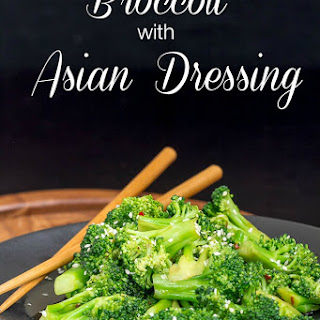 Broccoli with Asian Dressing