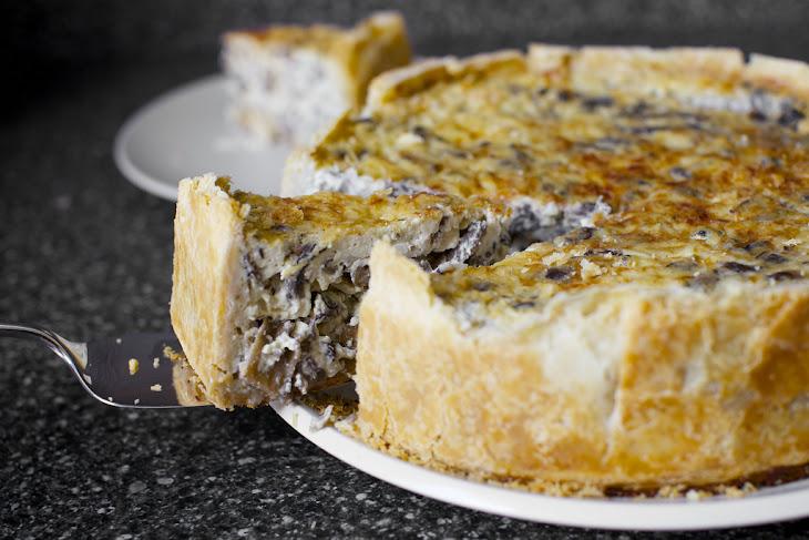Over-the-Top Mushroom Quiche Recept | Yummly