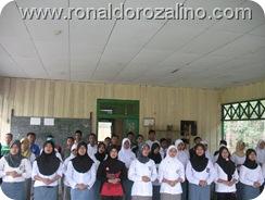Proses Latihan Perpisahan kelas XII IPA di SMAN Pintar Kuansing 9