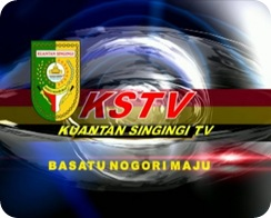1.Lambang KSTV Kuansing TV