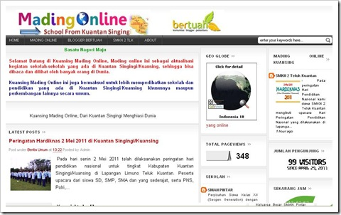 Cover Mading Online Kuansing
