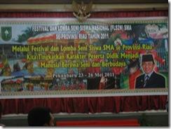 Persiapan Festival Lomba Seni Siswa Nasional (FLS2N) di Pekanbaru