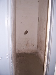 Inside a solitary confinement cell