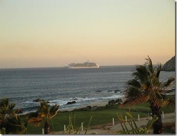 13.  Cruise ship
