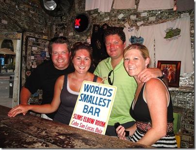 6.  Littlest Bar in Cabo
