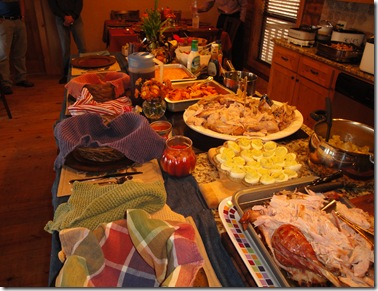 2.  Thanksgiving feast