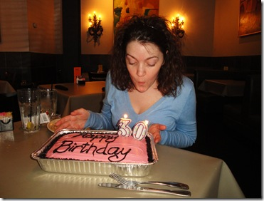 4.  Birthday candles