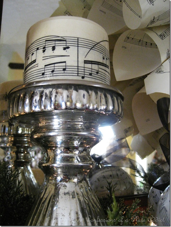 CONFESSIONS OF A PLATE ADDICT Sheet Music Candles and More