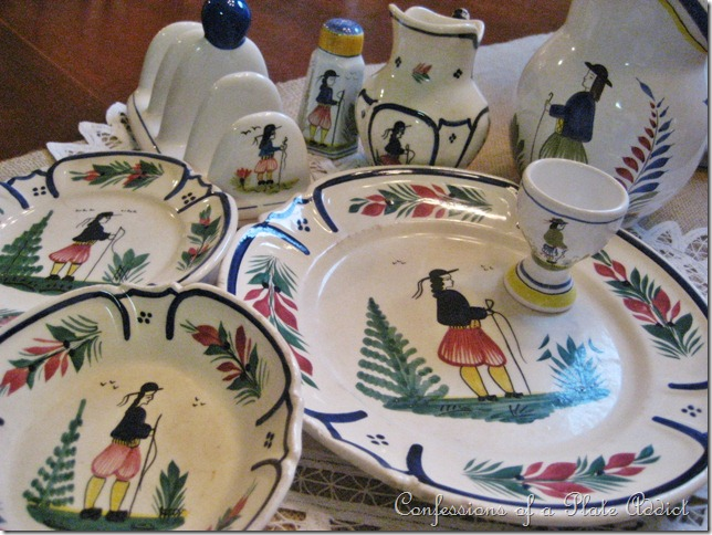 Confessions of a plate addict frenchy quimper pottery - Gallery cuisine quimper ...
