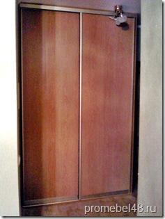 шкаф купе с панельными дверями