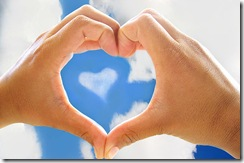 coração mão
