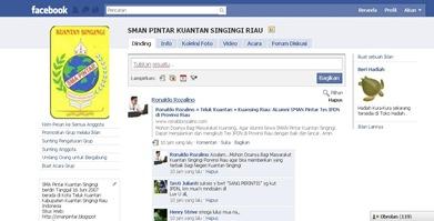 Grup Facebook SMAN Pintar Kuantan Singingi