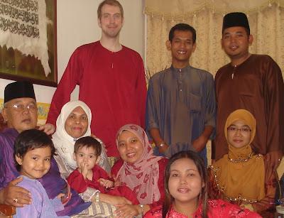 My Malaysian family