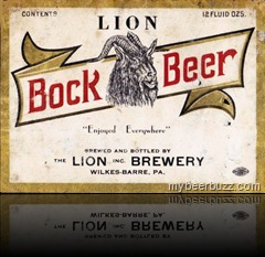 LionBockOld Label