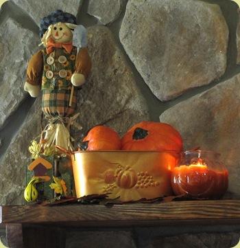 scarecrow pumpkins