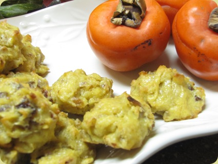 Persimmon Cookies 2