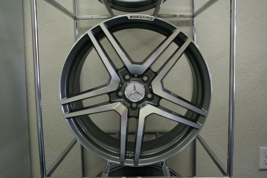 """Mercedes Benz 19"""" AMG Wheels Euro 63 CLS E s SL CLK SLK"""