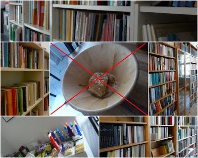 Wer kam eigentlich auf die Idee, so viele Bücher in die Wohnung zu schleppen :-(