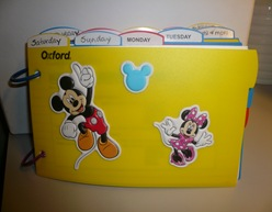 Oxford flip binder