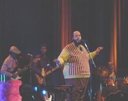 Ed Motta e banda. Foto: Julio Menezes