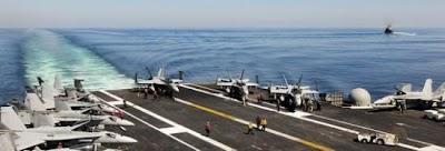 美军称做武力推翻卡扎菲政权准备 两艘航母待命
