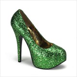 Bordello Teeze Green ShoesNBooze