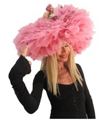 Betsey Johnson Chambord Barbie Hat ShoesNBooze