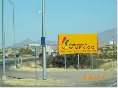 New Mexico - Van Horn, Tx to Willcox, AZ