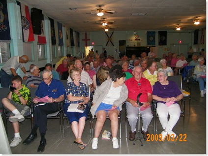 Annual Gospel Night partial crowd