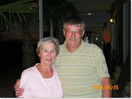 Eileen and Walter Weins will be leaving Wednesday headed home to BC Canada