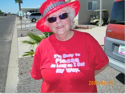 I love Dorie's shirt